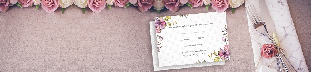 RSVP Card Designs that Match Your Invitations